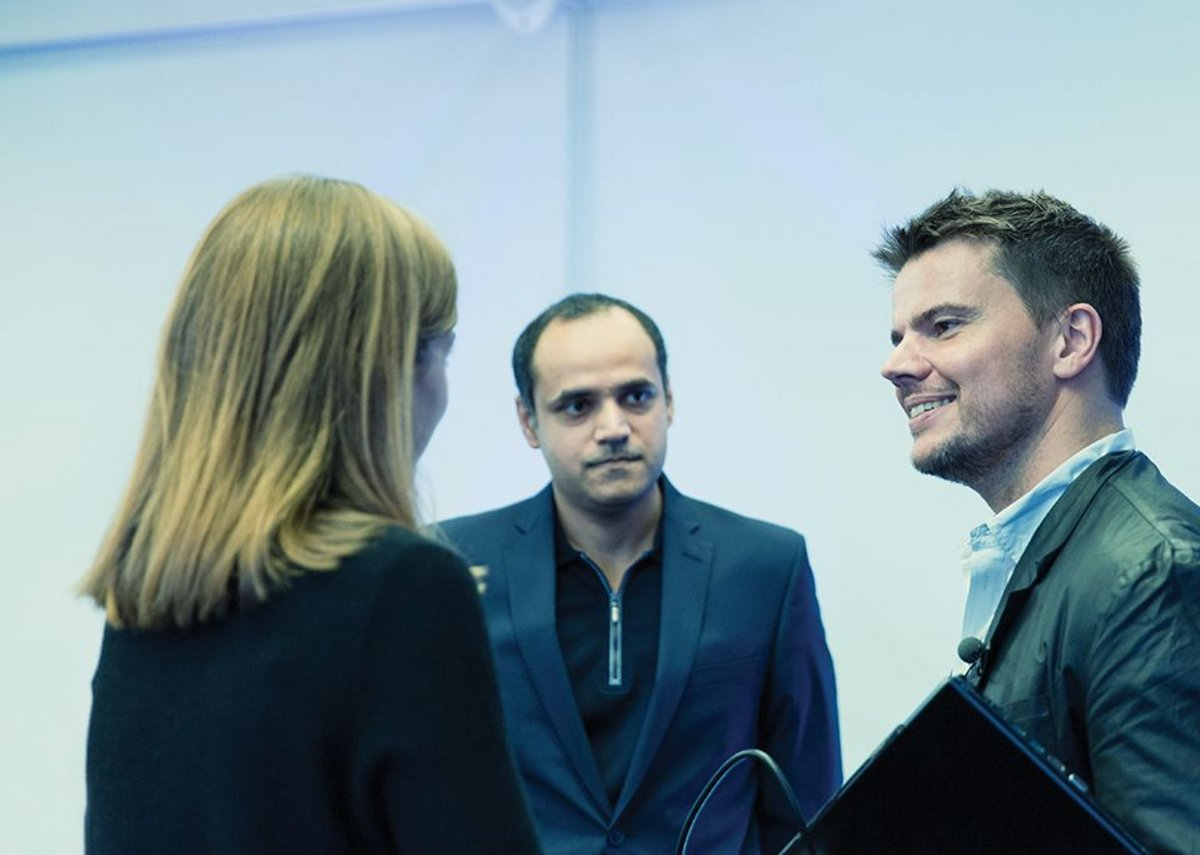 Bjarke Ingels meets and greets at the RIBA.