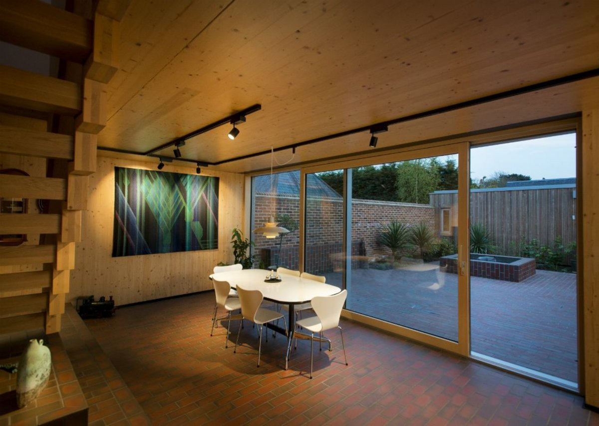 Hampshire Passivhaus by Ruth Butler Architects - Private Winner 2017.