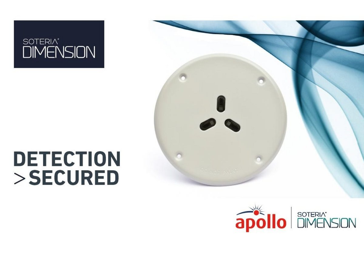 The Soteria Dimension Specialist Optical Detector features an anti-vandal and anti-ligature metal faceplate to protect the most vulnerable in care and custody.