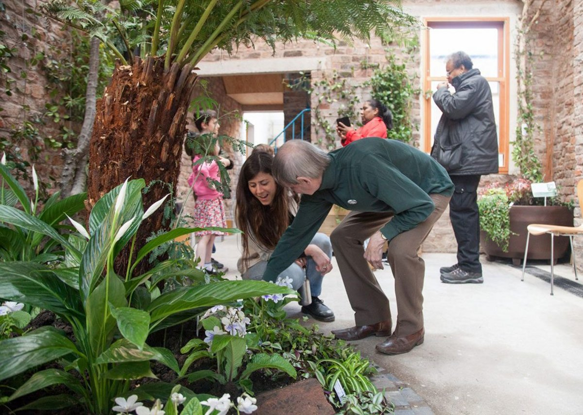 Maintaining the garden is a constant learning process for everyone, but the aim is for it to be there for the community for posterity.