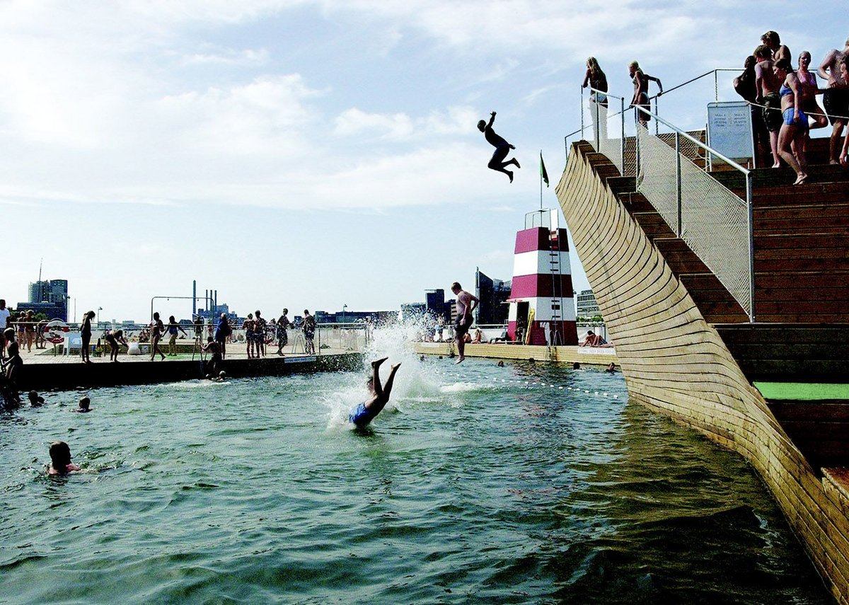 Don't just swim: JDS Architects has taken the leap in Copenhagen Harbour Bath