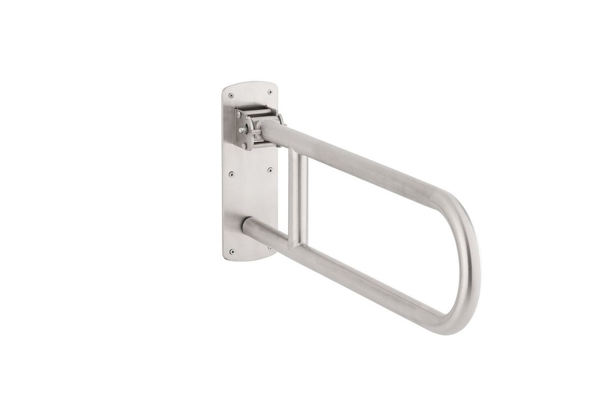 Bobrick 125-Swing-Up grab bar.