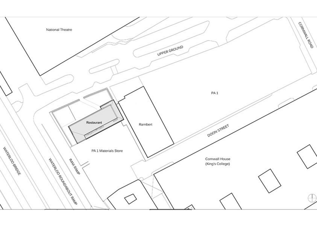 Detail site plan.