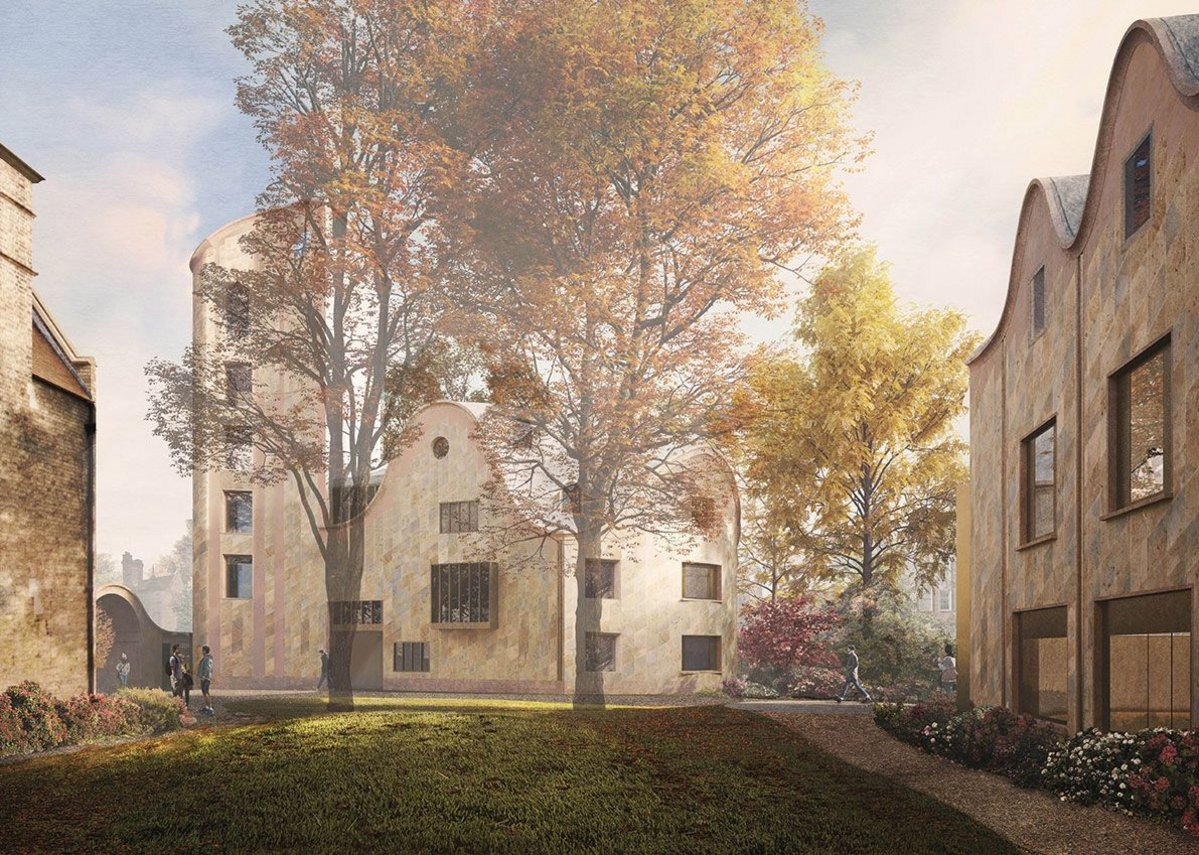 Constantine is traversing the 'tightrope' of needs at New College Oxford's £37m building.