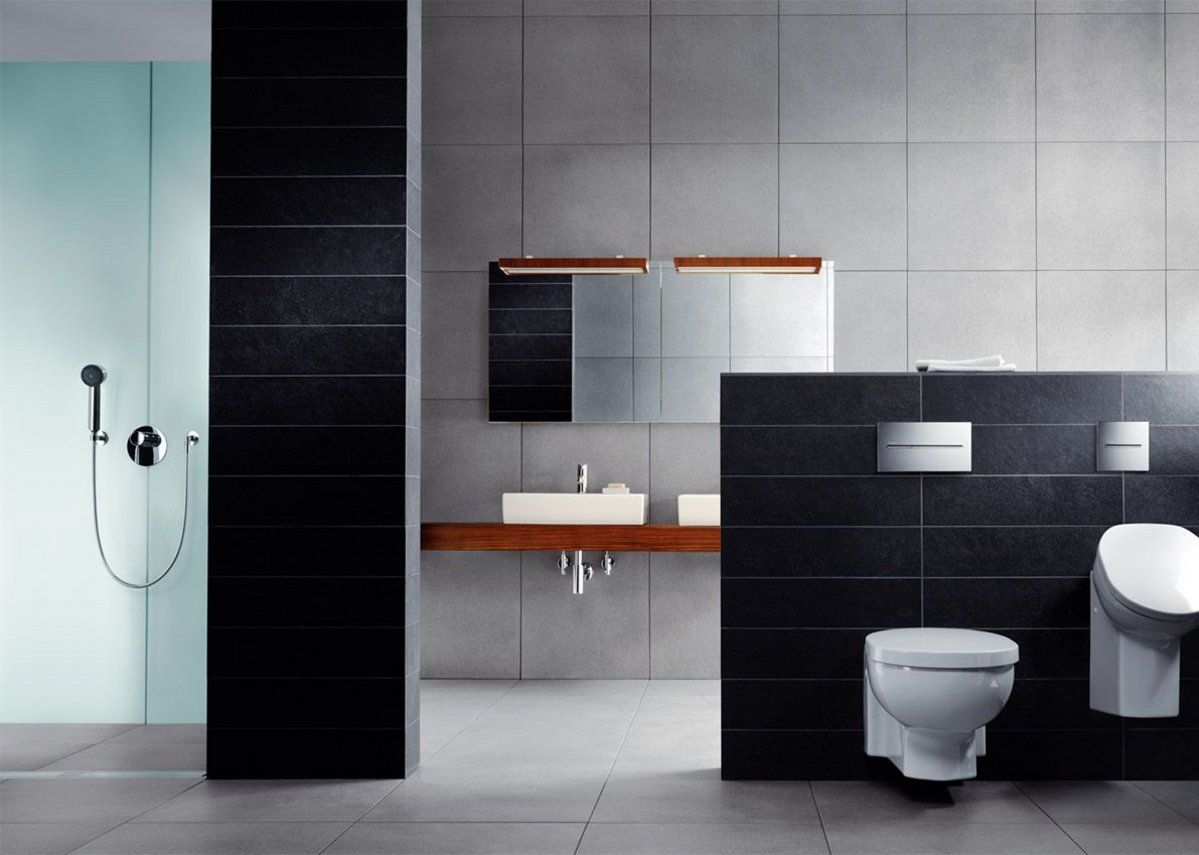 Basins, toilets and urinals can all be mounted on Viega's pre-wall frames.