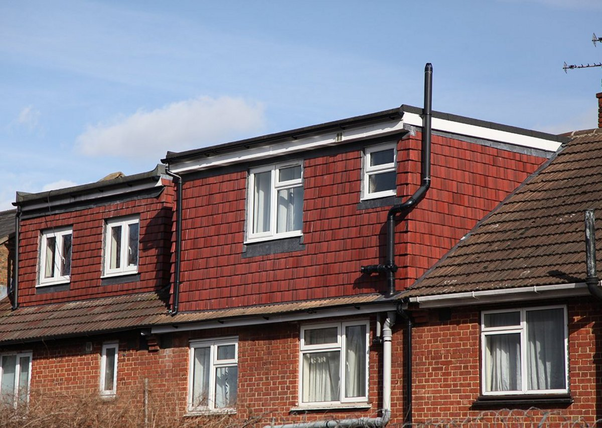 Typical permitted development style roof extensions