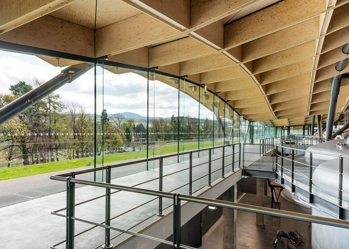Rshp S Macallan Visitor Centre Wins Riba Regional Award