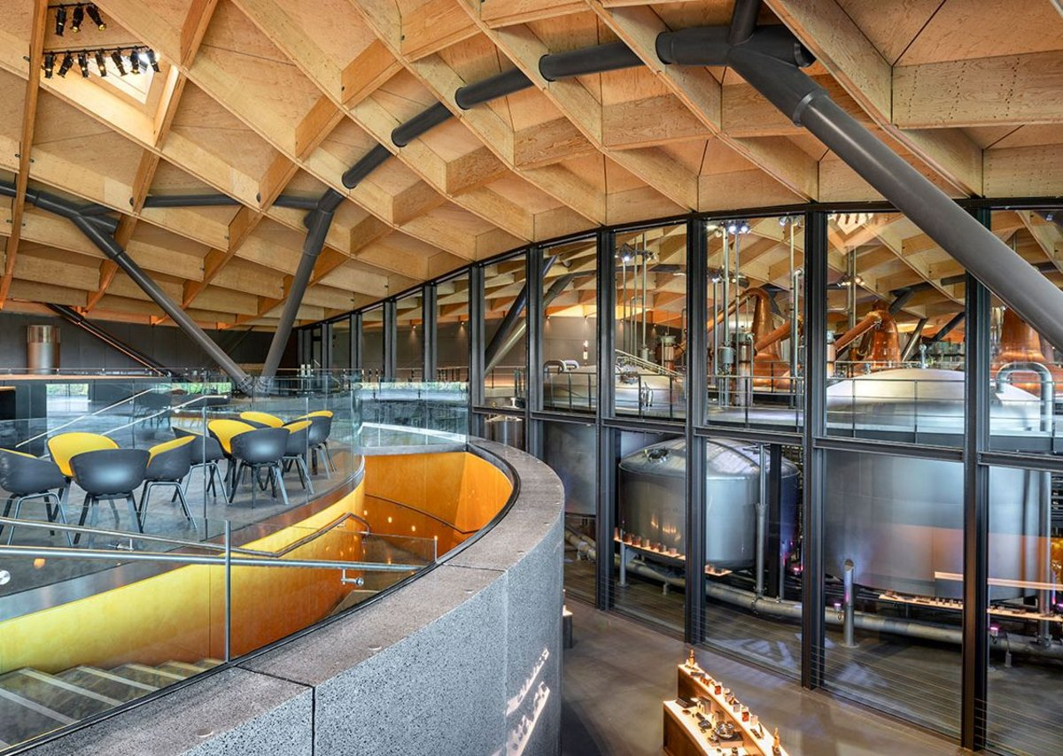 The Macallan Distillery and Visitor Experience, Charlestown of Aberlour.