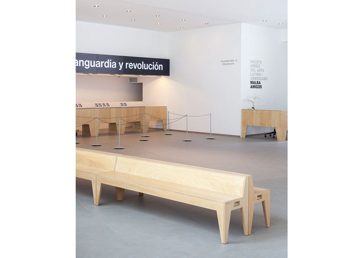 The MALBA project involved levelling out and retro-fitting over 1,000m2 of flooring.