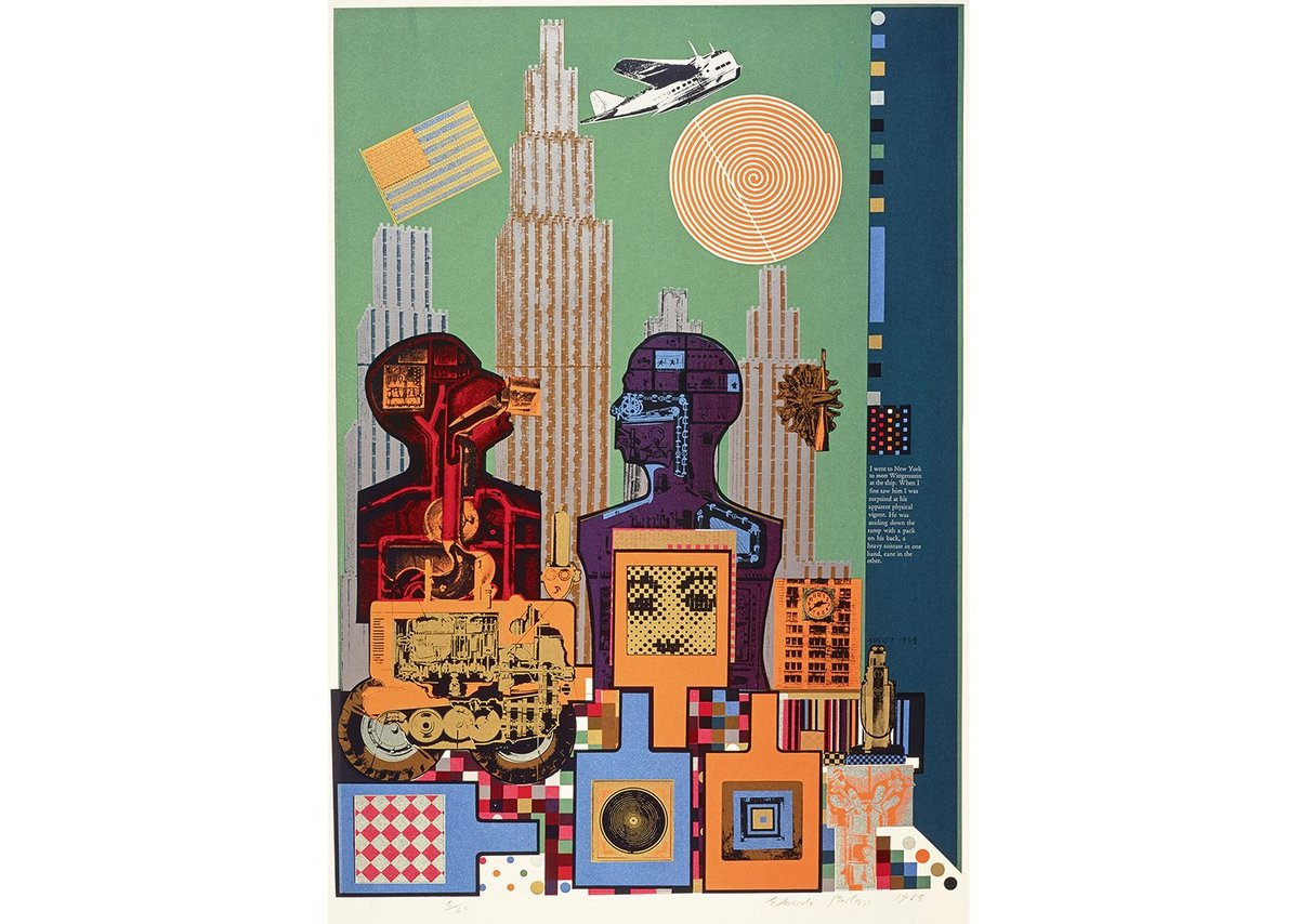 Eduardo Paolozzi, Wittgenstein in New York (from the As is When portfolio)
