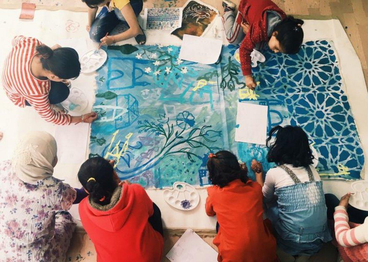 Worldwide Tribe workshop in Jordan
