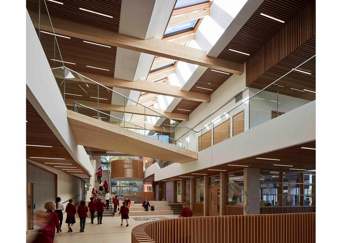 Highgate Junior School London by Architype