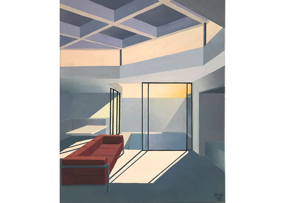 Interior: Late Afternoon.