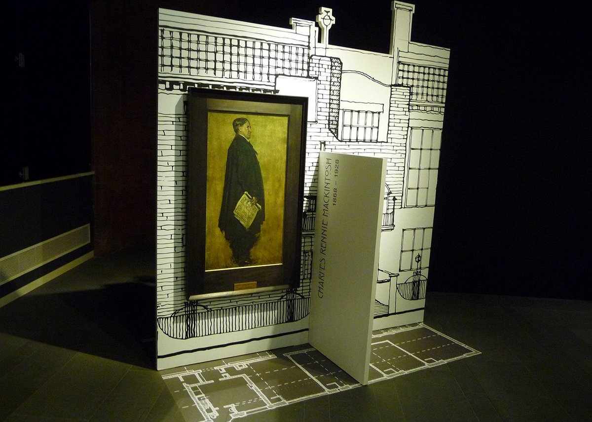 Mackintosh at Out of Their Heads - it's all very well but there's not a lot of architecture to hold onto.