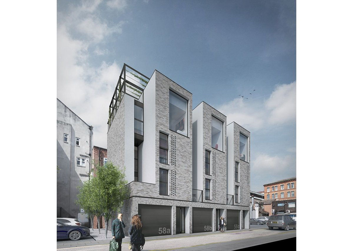 Sixtwo's Richmond Street project is three new townhouses in Manchester.