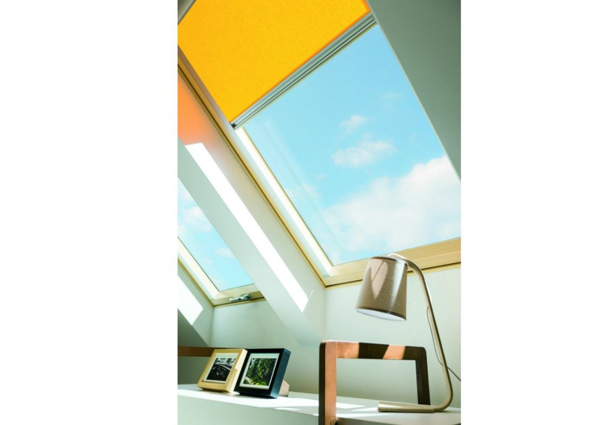 Fakro's thermally efficient windows can be positioned at any point up to 40 degrees.