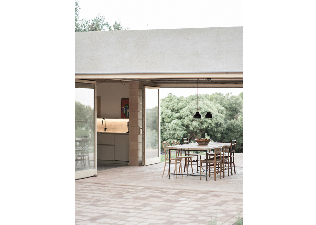 Casa Ter in La Bisbal d'Emporda by Mesura architects, winner of the Architecture category.