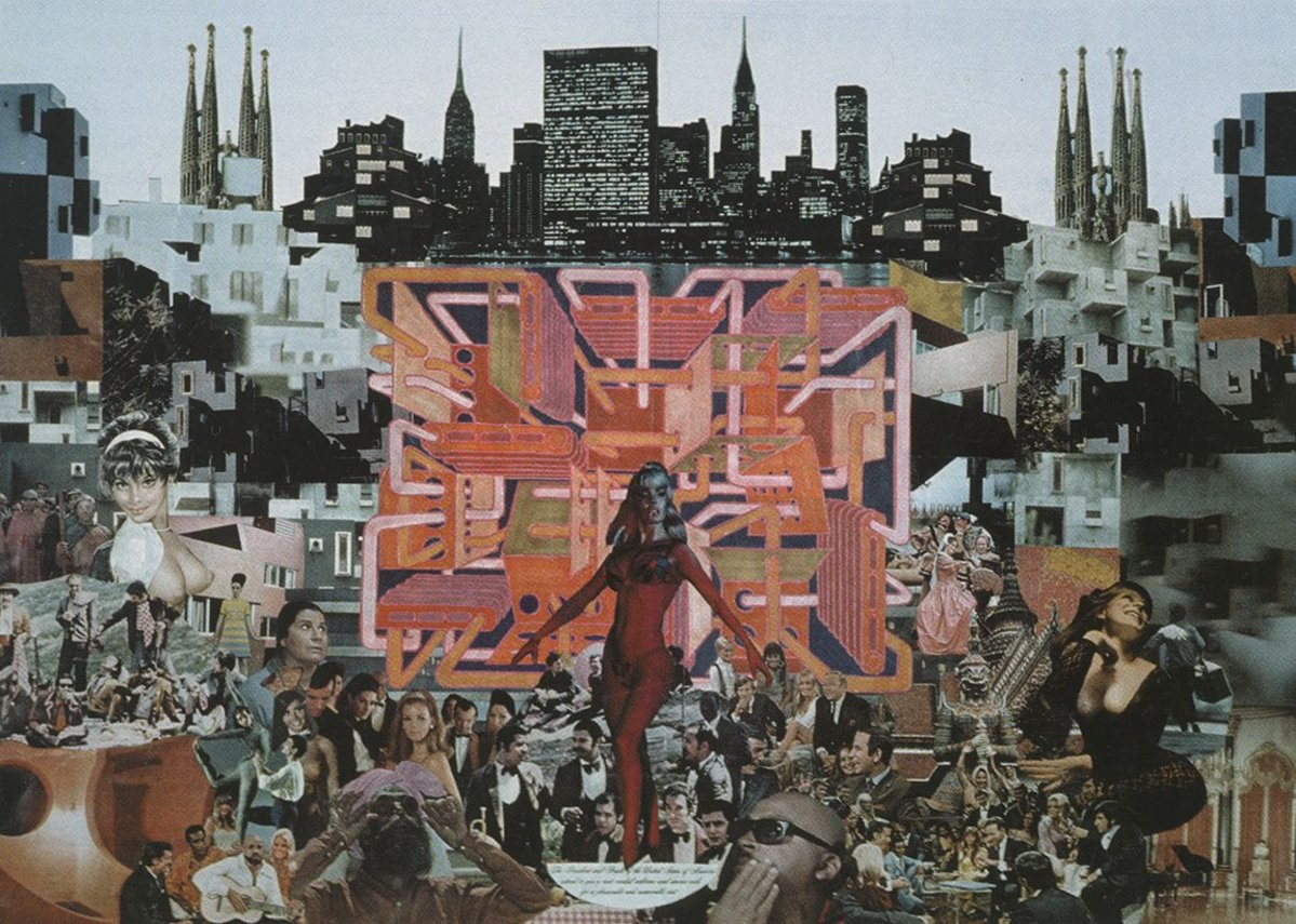 Collage 2, 1968.
