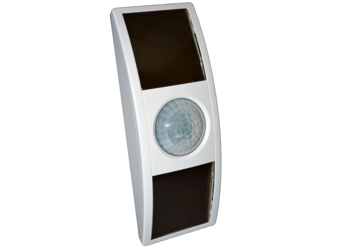 Easyfit solar-powered ceiling-mounted occupancy sensor.
