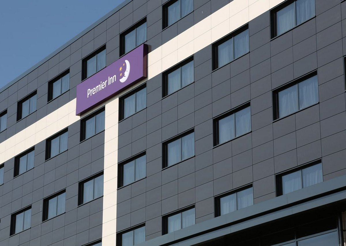Senior's Pure aluminium windows are available in tilt and turn, casement and overswing styles. Premier Inn hotel at Feethams leisure development, Darlington, by architects Niven.