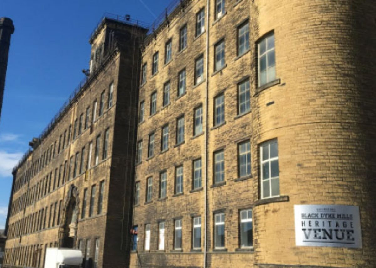Stead & Co, feasibility studies for Black Dyke Mills in Queensbury, Bradford. A charity is intending to transform the mills into a dynamic cultural hub – celebrating the local heritage.