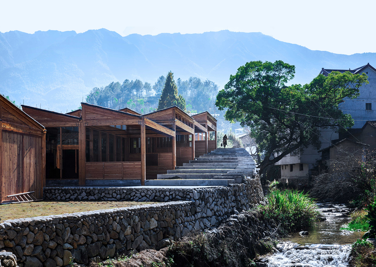 Tofu Factory in Songyang, east China, designed by DNA Design and Architecture.  Xu Tiantian of DNA Design and Architecture is speaking in the Rural Renaissance talk on May 11.