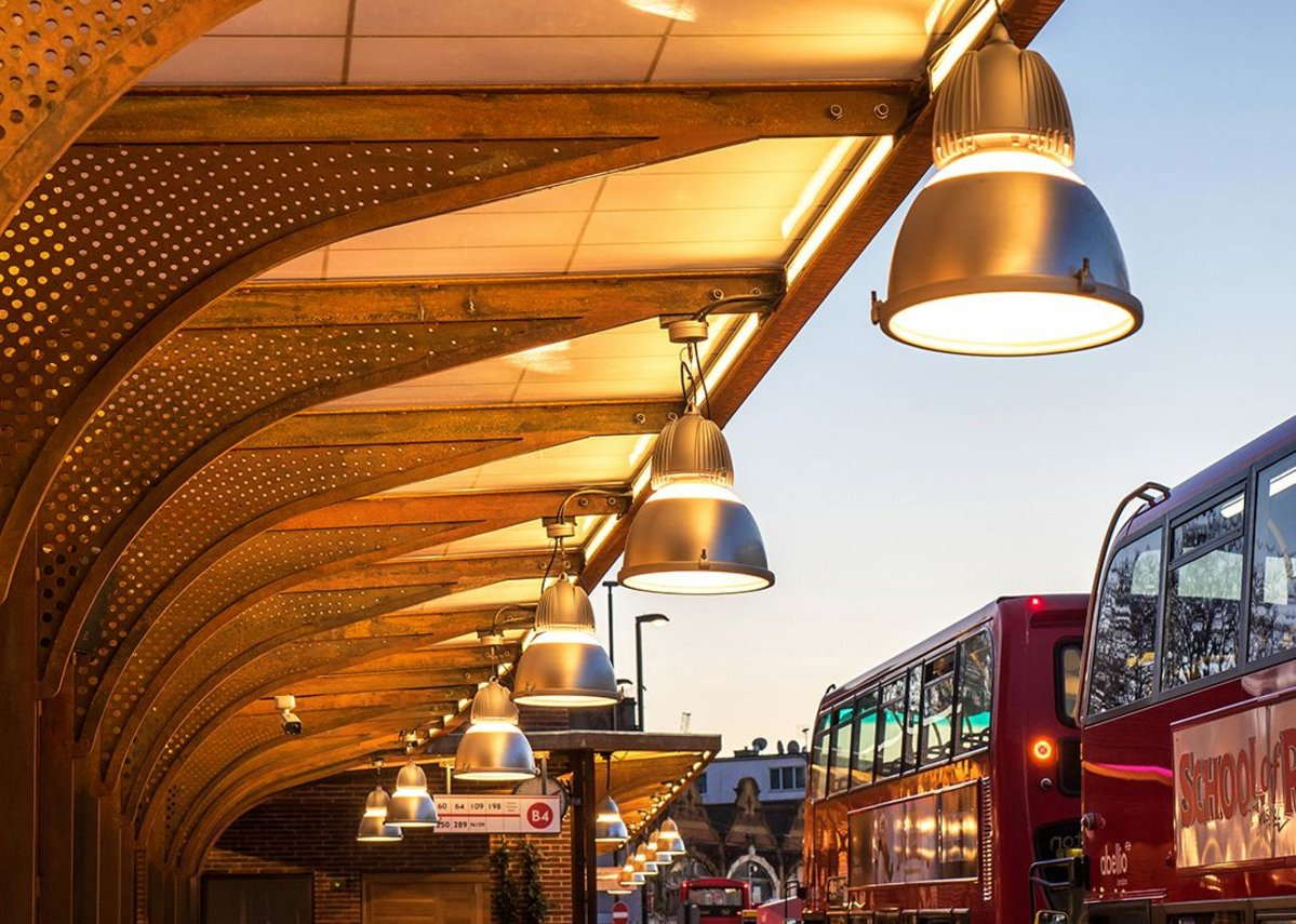 West Croydon Bus Station London by TFL architects
