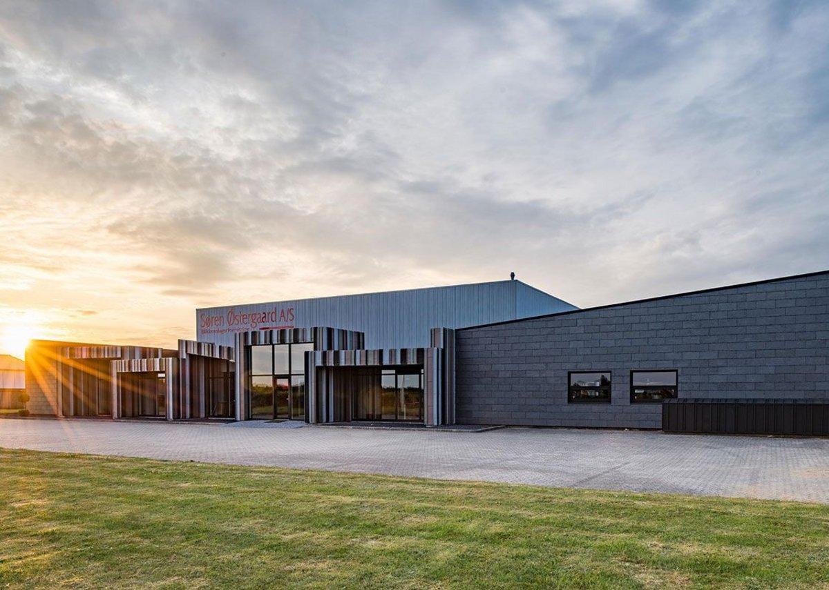 Cupaclad 201, Søren Østergård warehouse and distribution centre, Aarhus, Denmark.