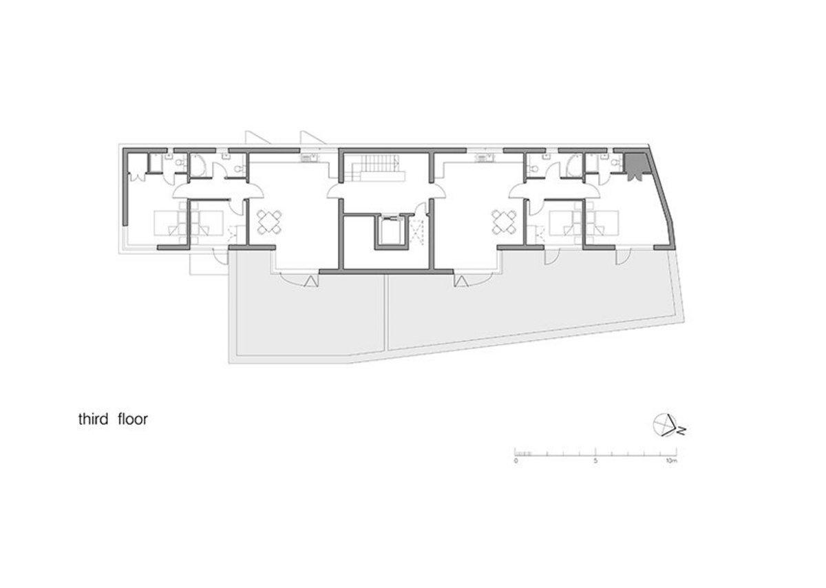 Floor plans - 3rd floor