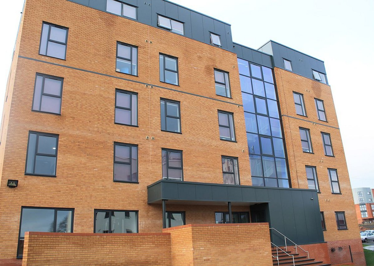 Poulson House provides accommodation for Staffordshire and Keele University students.