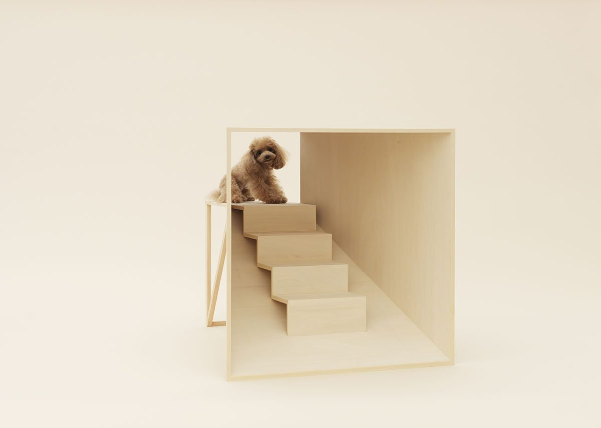 D-Tunnel by Kenya Hara for Teacup Poodle.