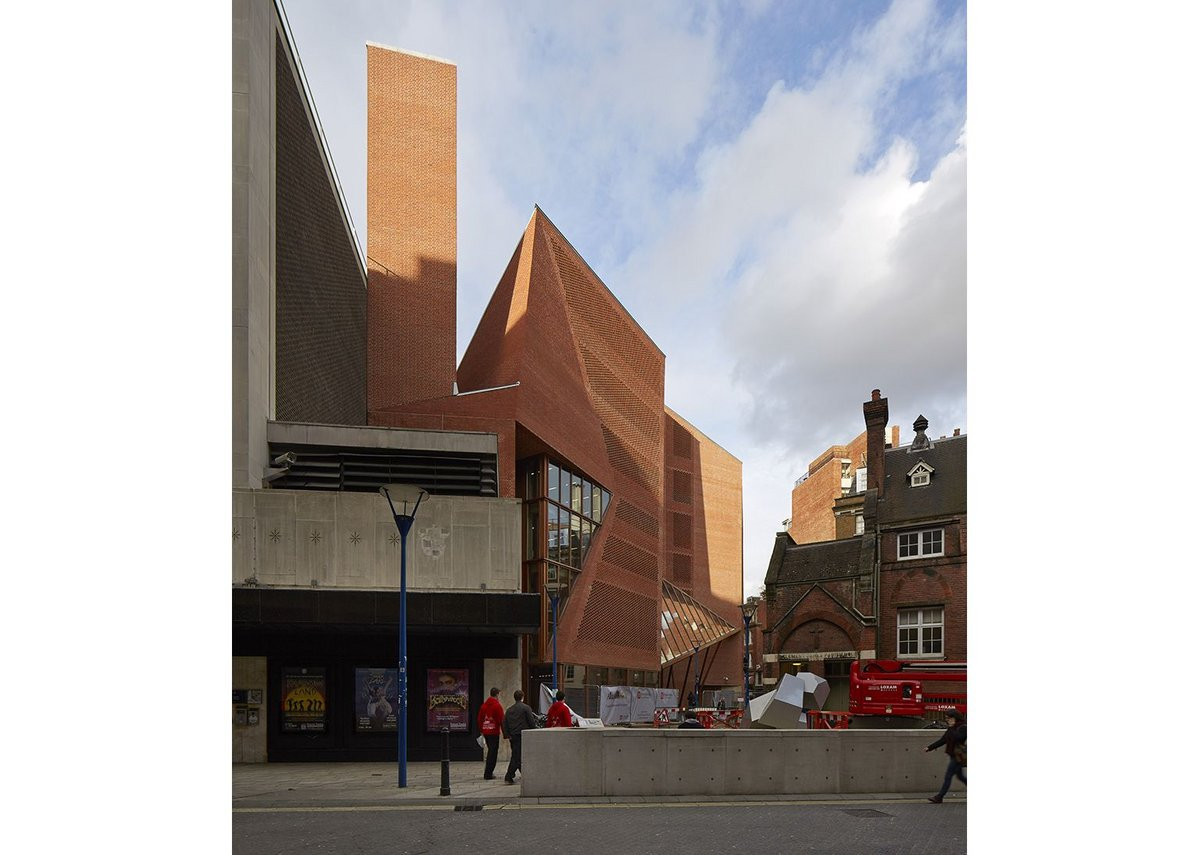 Saw Swee Hock student centre at the LSE by O'Donnell and Tuomey picked up the Special Award for Brick. Sponsor Derwent London.