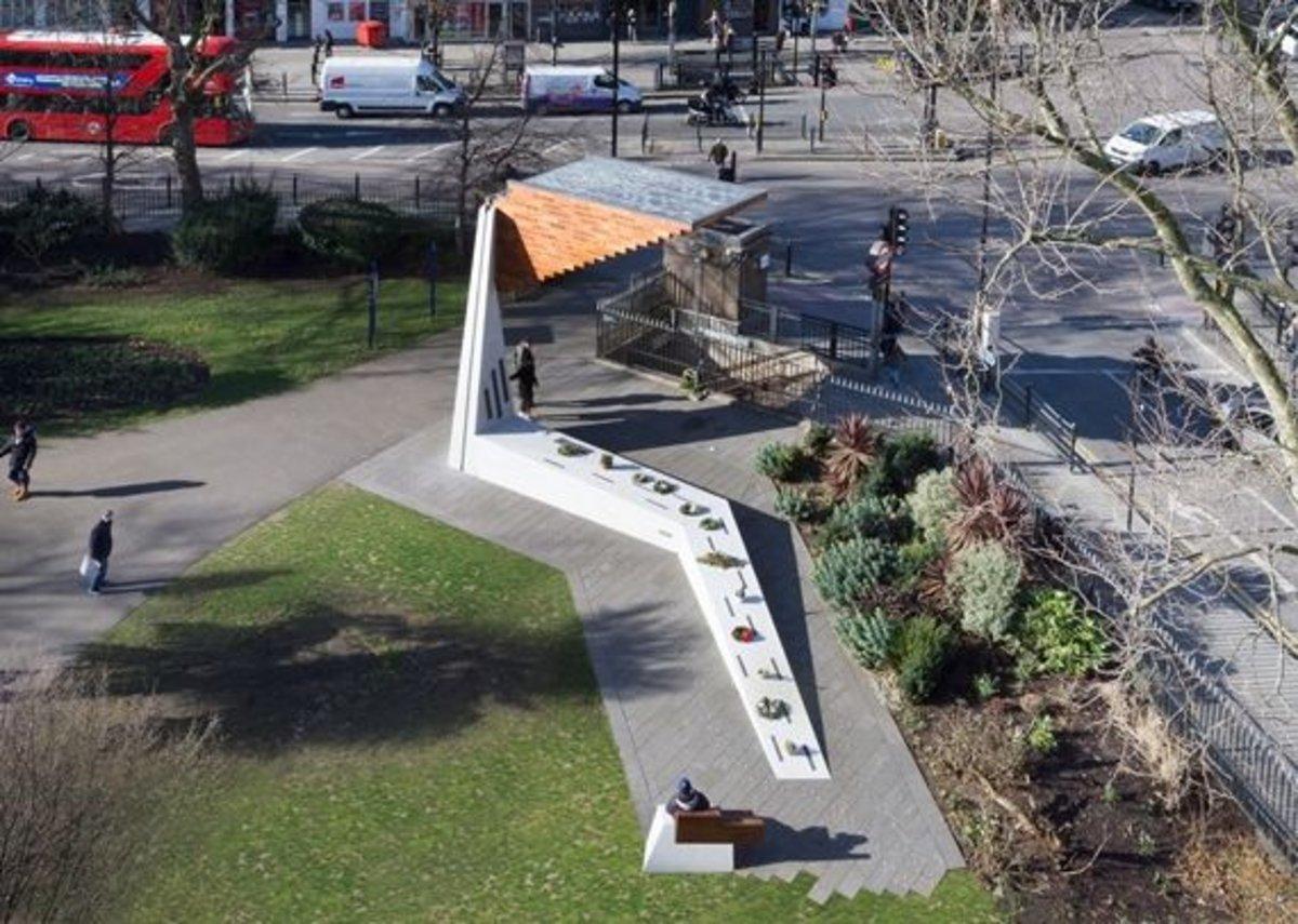 Bethnal Green Memorial.