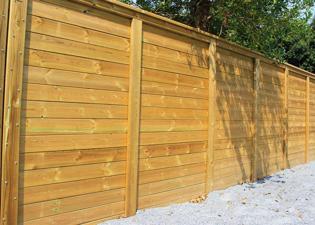 Jacksons' 12K Acoustic Envirofence is suitable for lower noise reduction.