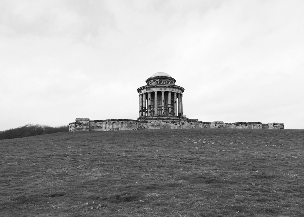 The Mausoleum at Castle Howard.