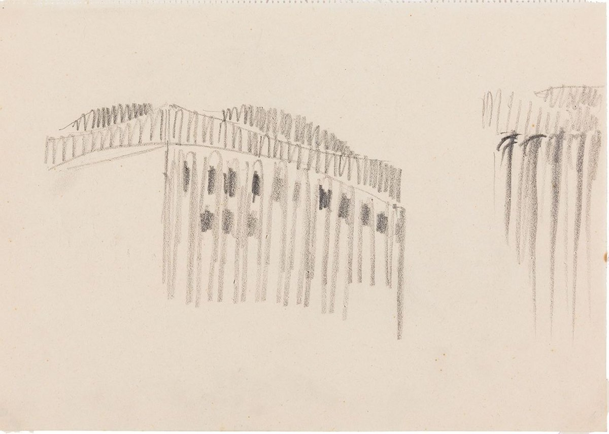 Hans Poelzig, sketch for the Grosses Schauspielhaus, Berlin, 1919