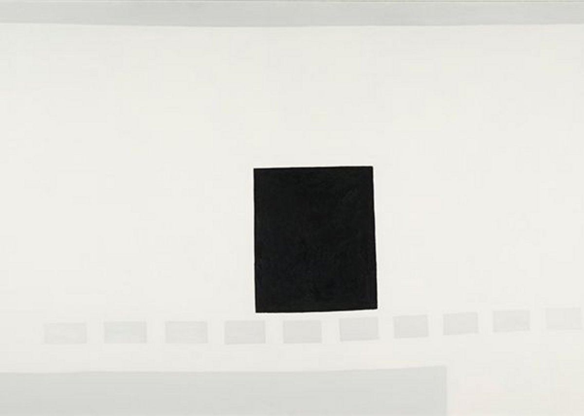 My Last Door, by Georgia O'Keeffe, 1952-54. Georgia O'Keeffe Museum, Gift of the Burnett Foundation.