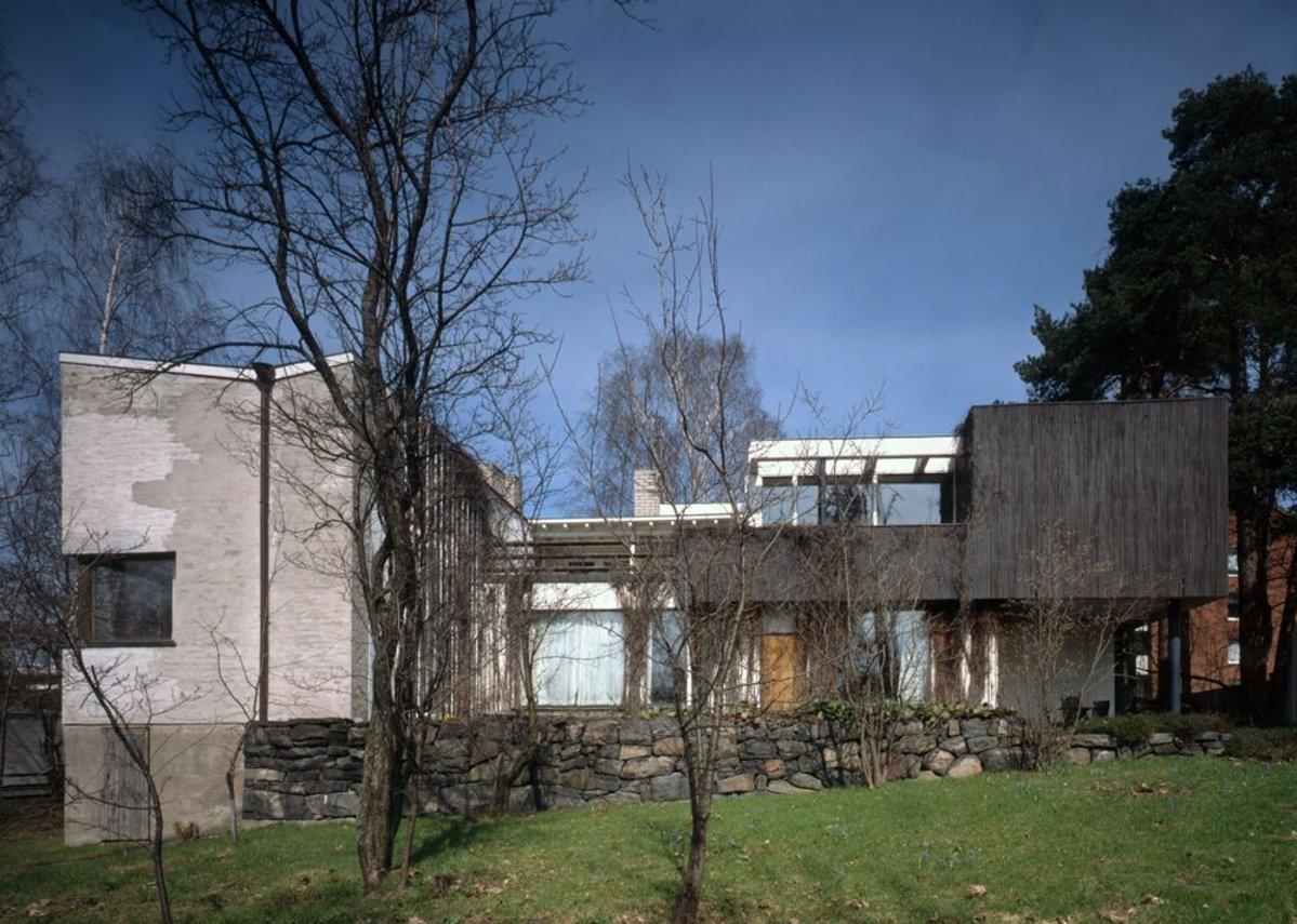 Alvar Aalto's House Helsinki 1936 (c) Maija Holma Alvar Aalto Museum.