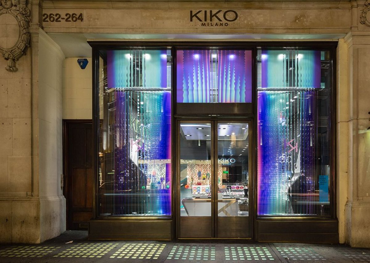 Kiko Milano with Aleksa Studio.