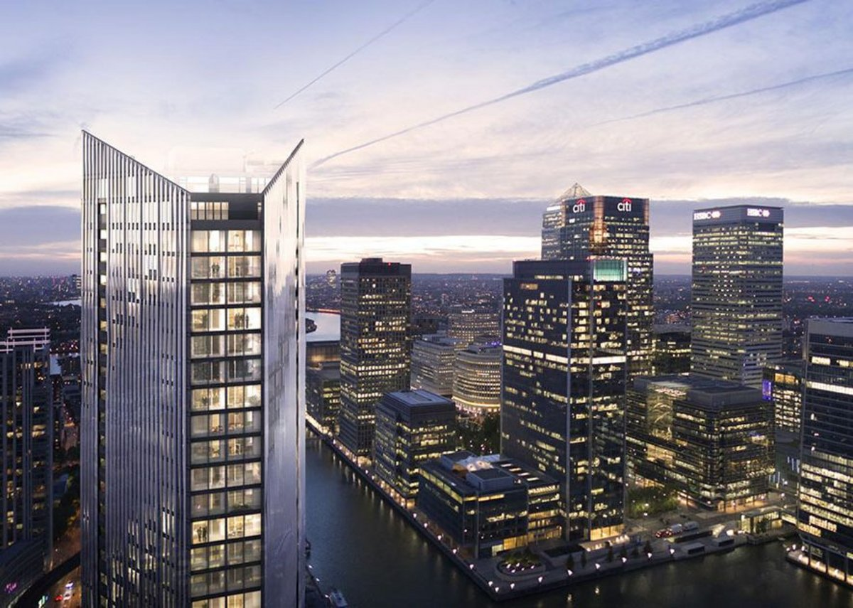 The Madison, Canary Wharf — Make Architects and LBS Properties.