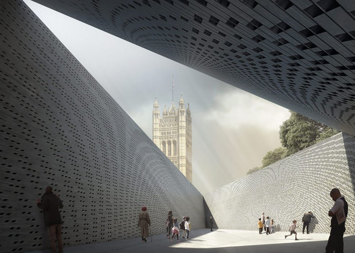 Shortlisted designs Holocaust Memorial for Westminster with Heneghan Peng.