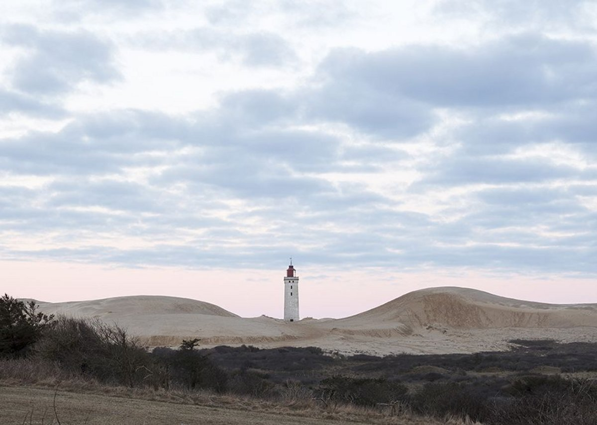 Rubjerg Knude Lighthouse - in the landscape