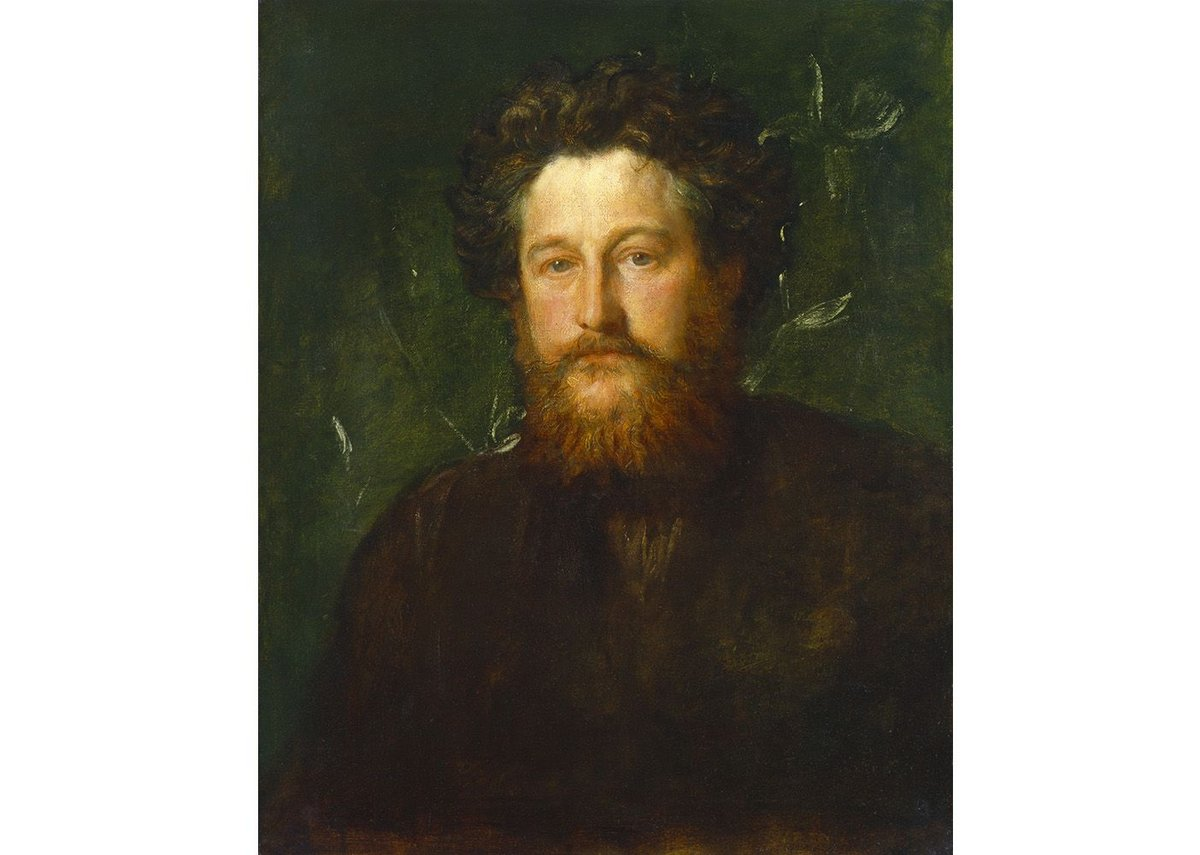 William Morris by GF Watts