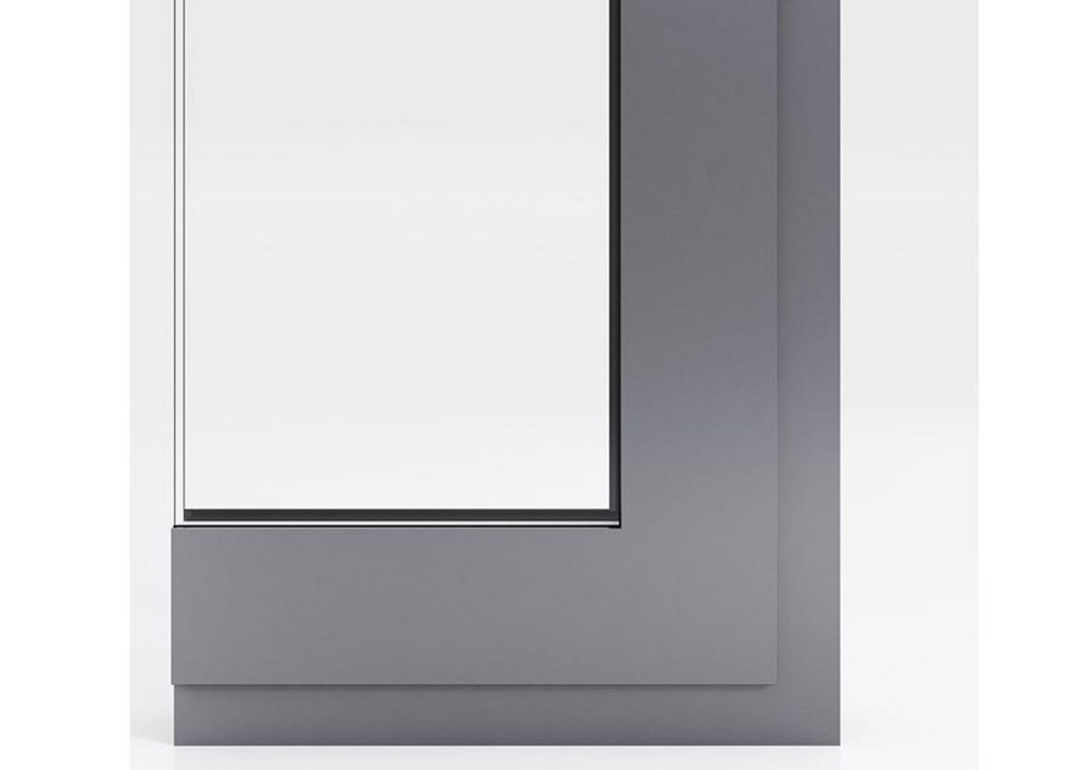 A concealed coupler option gives added mullion support, while the z-adapter profile enables reversed fixed-light glazing for reduced sightlines.