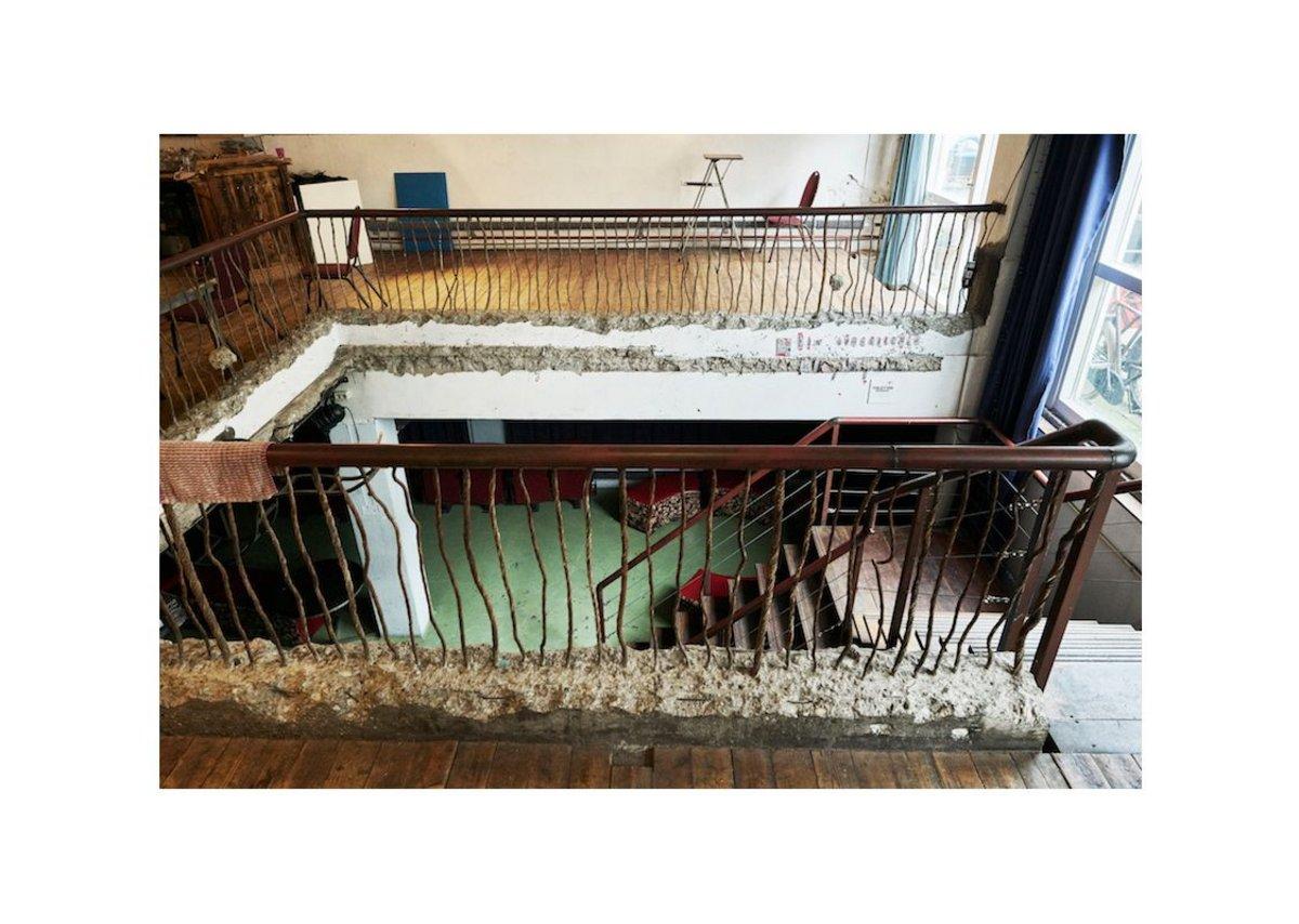 Plantage Dok staircase,  2016.