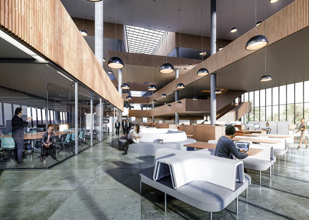 Mara Bravo Architecture -  Coworking Space