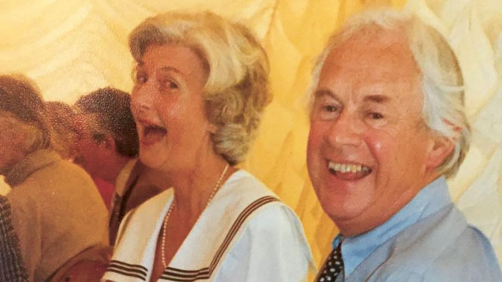 Gordon Frederick Taylor with his wife Barbara Newick, fashion designer.