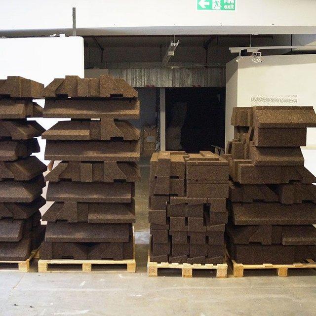 Oliver Wilton and Matthew Barnett Howland's Cork Construction Kit