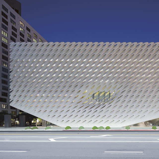 The architect's role in defining the modern art museum