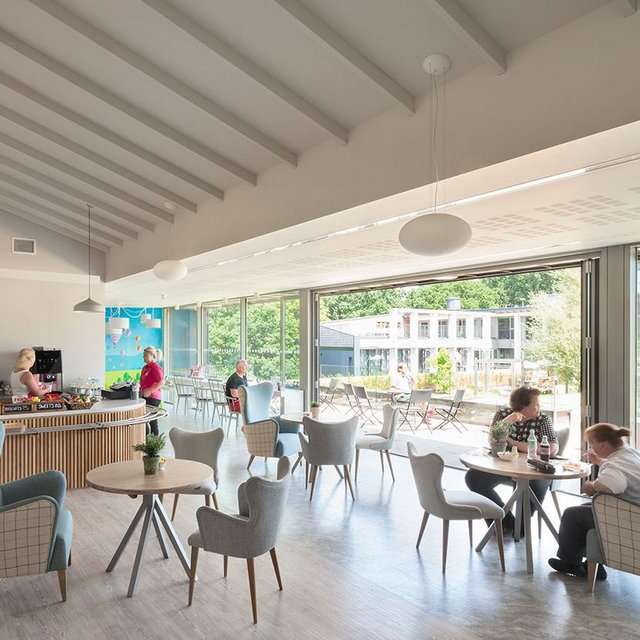 Inclusive design and easy access at St David's Hospice
